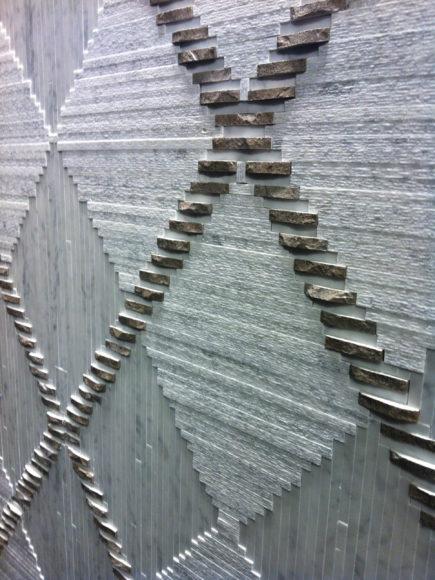 Mélange de marbre & finition